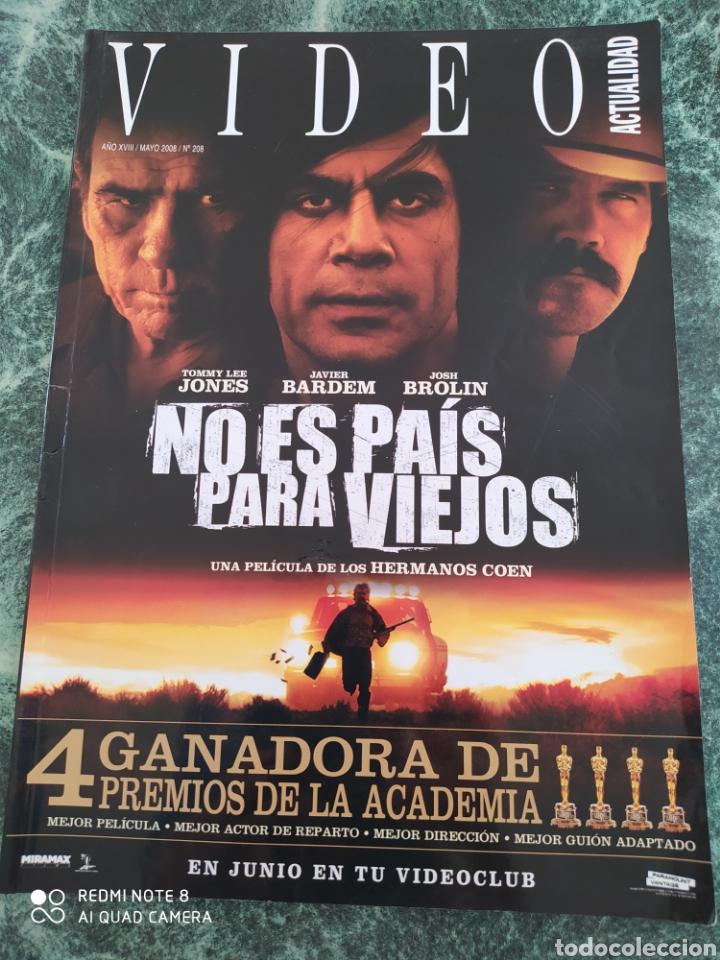 VIDEO ACTUALIDAD N° 208. (Cine - Revistas - Colección grandes películas)