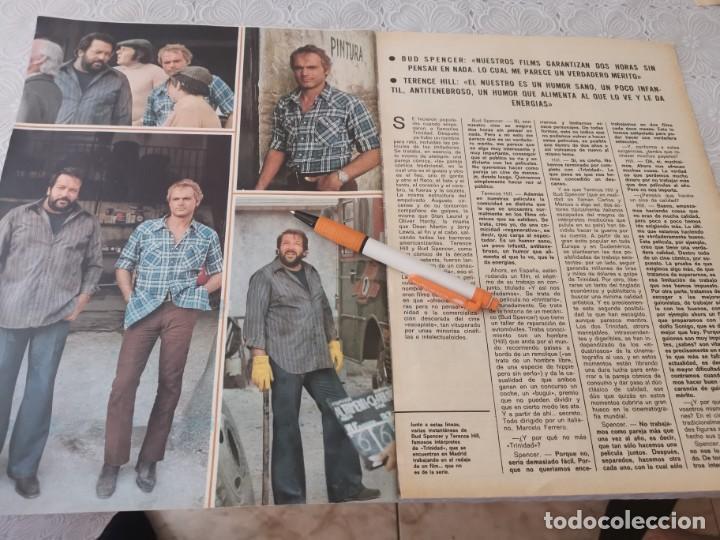 Cine: BUD SPENCER Y TERENCE HILL TRABAJAR JUNTOS RECORTE REVISTA 4 PAGINAS 1973 - Foto 2 - 206235497