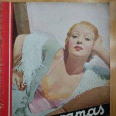 Cine: REVISTA CINEGRAMAS, IDA LUPINO. Nº 28, 24 DE MARZO DE 1935.. Lote 206489645