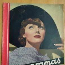 Cinéma: REVISTA CINEGRAMAS. PORTADA ADRIENNE AMES. Nº 42. 1935.. Lote 206489790
