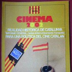 Cine: CINEMA 2002 NÚMERO 38. Lote 206501063