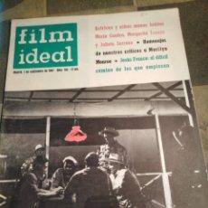 Cine: FILM IDEAL-N°103,SEPTIEMBRE 1962,ACTRICES Y NIÑAS MONAS, HOMENAJES DE NUESTROS CRÍTICOS A MARILYN MO. Lote 206570142