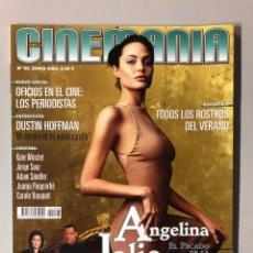 Cinema: CINEMANIA N° 93 (2003). ANGELINA JOLIE, KATE WINSLET, JORGE SANZ, MATRIX RELOADED,.... Lote 206865883
