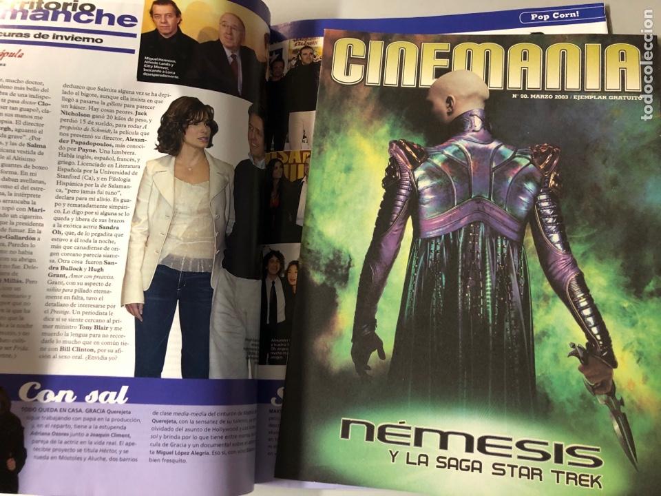 Cine: CINEMANIA N° 90 (2003). PEDRO ALMODÓVAR, ISABEL COIXET, SUPLEMENTO STAR TREK NEMESIS,... - Foto 2 - 206869690