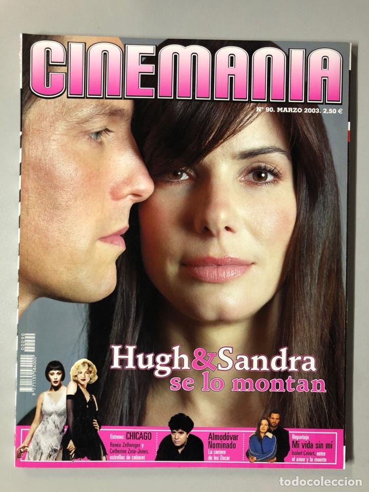 CINEMANIA N° 90 (2003). PEDRO ALMODÓVAR, ISABEL COIXET, SUPLEMENTO STAR TREK NEMESIS,... (Cine - Revistas - Cinemanía)