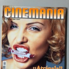 Cine: CINEMANIA N° 91 (2003). CHARLIZE THERON, MATRIX, MERYL STREEP, COLIN FARRELL,.... Lote 206869910