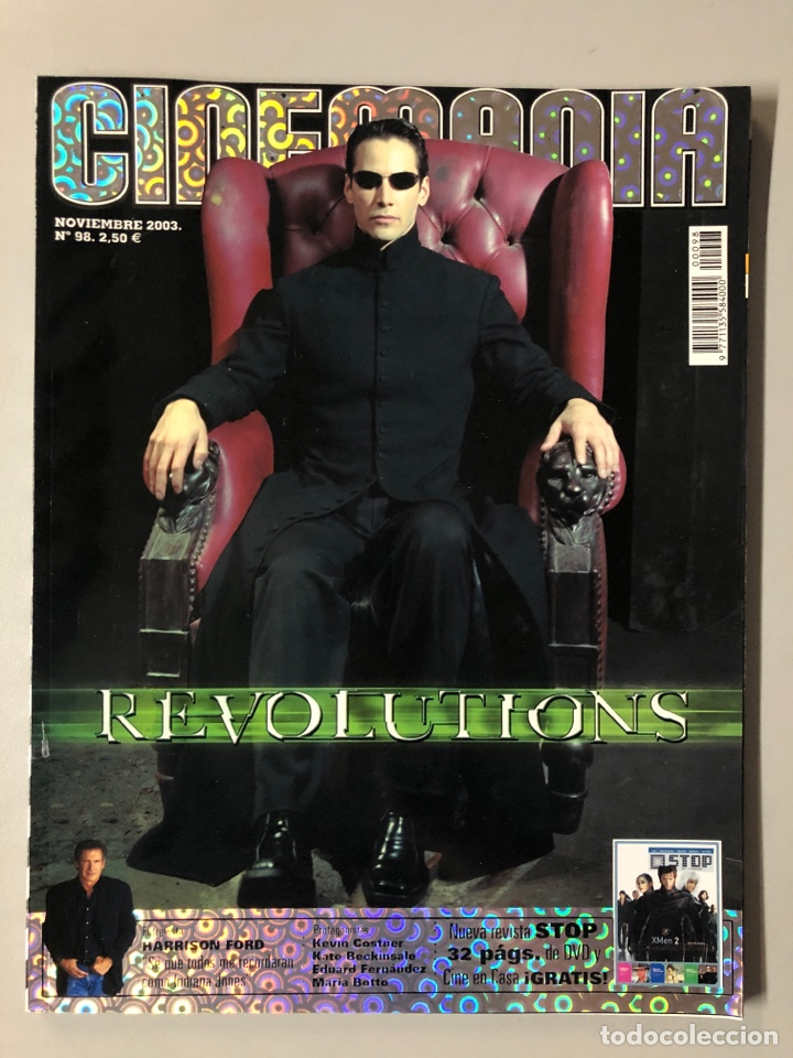 CINEMANIA N° 98 (2003). MATRIX REVOLUTIONS, HARRISON FORD, KEVIN COSTNER, MARÍA BOTTO,.. (Cine - Revistas - Cinemanía)