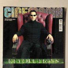 Cine: CINEMANIA N° 98 (2003). MATRIX REVOLUTIONS, HARRISON FORD, KEVIN COSTNER, MARÍA BOTTO,... Lote 206870513