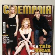 Cine: CINEMANIA N° 101 (2004). NICOLE KIDMAN, RENÉE ZELLWEGER, JUDE LAW, BILL MURRAY, SEAN PENN,.... Lote 206871280