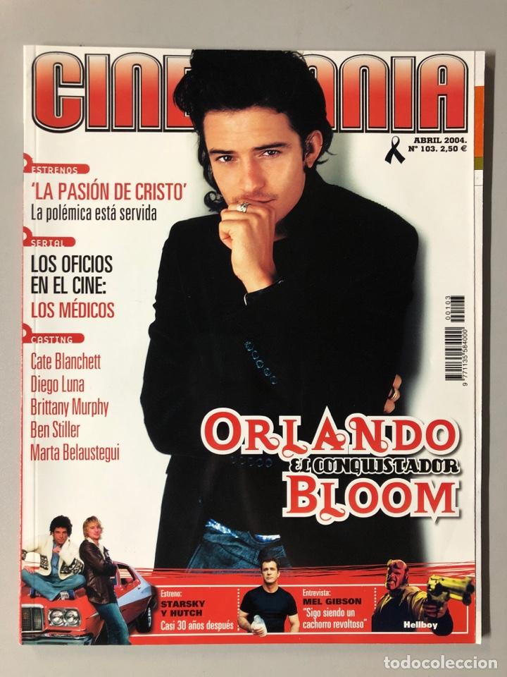 CINEMANIA N° 103 (2004). ORLANDO BLOOM, CATE BLANCHET, DIEGO LUNA, BEN STILLER, MEL GIBSON,... (Cine - Revistas - Cinemanía)
