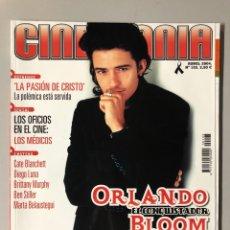 Cine: CINEMANIA N° 103 (2004). ORLANDO BLOOM, CATE BLANCHET, DIEGO LUNA, BEN STILLER, MEL GIBSON,.... Lote 206871631