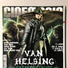 Cine: CINEMANIA N° 104 (2004). VAN HELSING, BRAD PITT, ELENA ANAYA, CINE DE TERROR, HAYDEN CHRISTENSEN. Lote 206872468