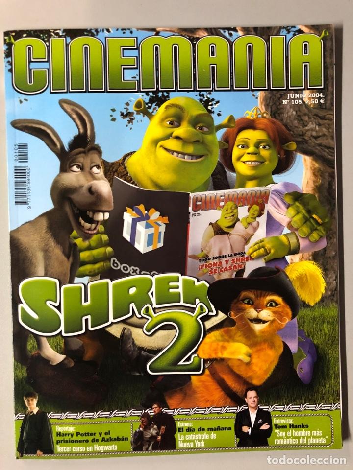 CINEMANIA N° 105 (2004). SHREK 2, HARRY POTTER, TOM HANKS,... (Cine - Revistas - Cinemanía)
