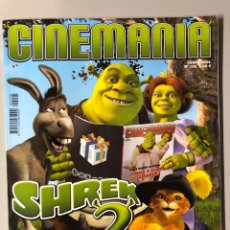 Cine: CINEMANIA N° 105 (2004). SHREK 2, HARRY POTTER, TOM HANKS,.... Lote 206872675