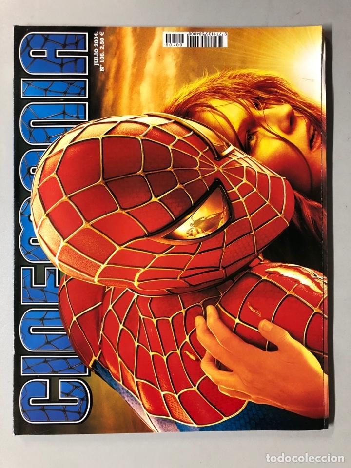 CINEMANIA N° 106 (2004). SPIDERMAN 2, MAR ADENTRO, KILL BILL 2, GEORGE CLOONEY,... (Cine - Revistas - Cinemanía)