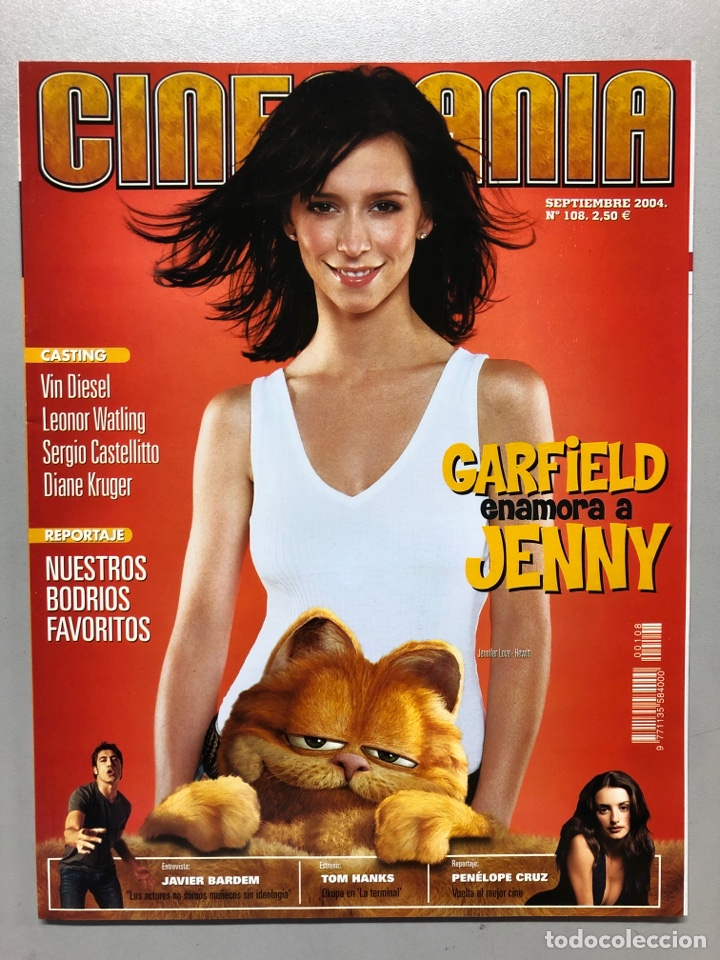 CINEMANIA N° 108 (2004). JAVIER BARDEM, PENÉLOPE CRUZ, TOM HANKS, LEONOR WATLING,... (Cine - Revistas - Cinemanía)