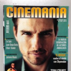 Cine: CINEMANIA N° 109 (2004). TOM CRUISE, NUEVOS ACTORES ANDALUCES, LIV TAYLER, JUAN DIEGO BOTTO,.... Lote 206873858