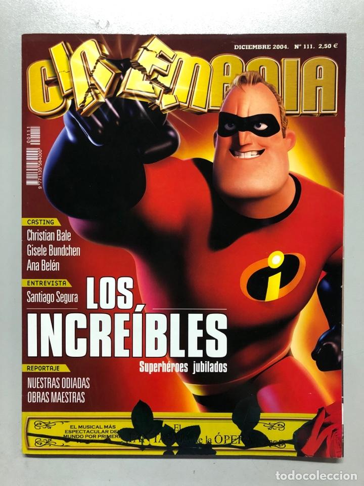 CINEMANIA N° 111 (2004). LOS INCREÍBLES, CHRISTIAN BALE, GISELE BUNDCHEN, ANA BELÉN, SANTIAGO SEGURA (Cine - Revistas - Cinemanía)