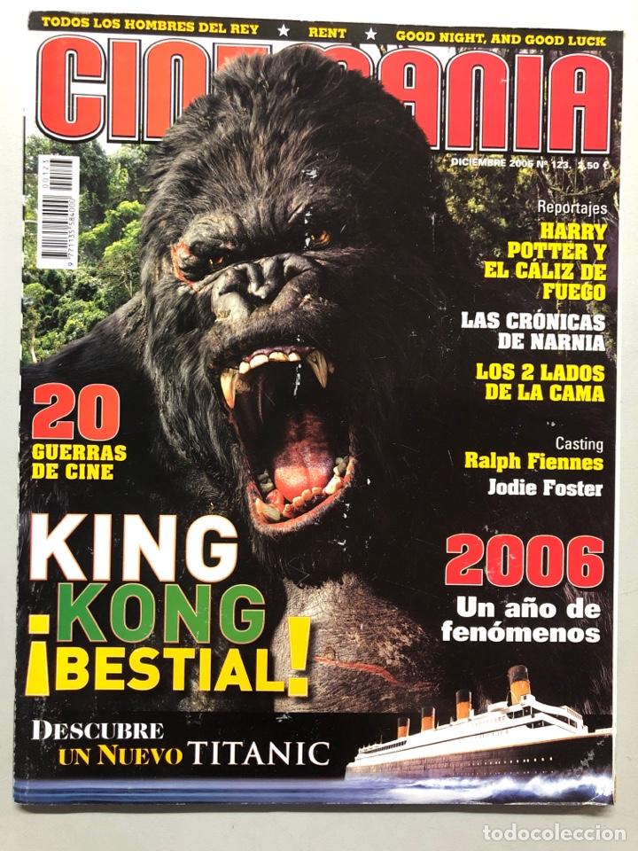 CINEMANIA N° 123 (2005). KING KONG, TITANIC, HARRY POTTER, LAS CRÓNICAS DE NARNIA, JODIE FOSTER,... (Cine - Revistas - Cinemanía)