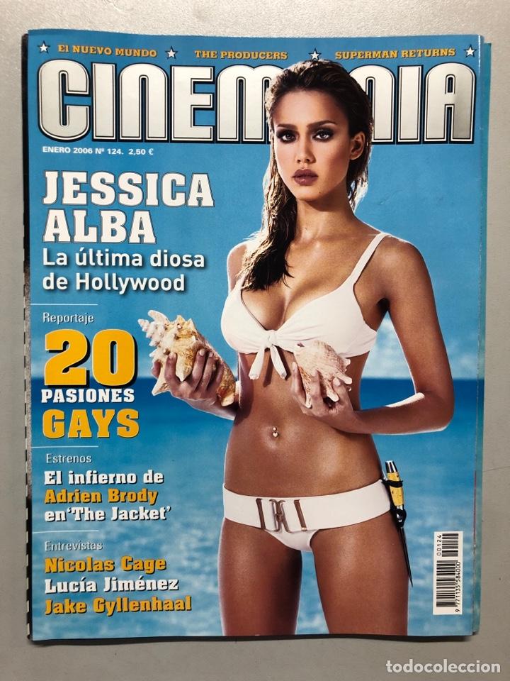 CINEMANIA N° 124 (2006). JESSICA ALBA, 20 PASIONES GAYS, ADRIEN BRODY, LUCIA JIMÉNEZ,... (Cine - Revistas - Cinemanía)