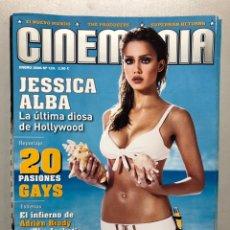 Cine: CINEMANIA N° 124 (2006). JESSICA ALBA, 20 PASIONES GAYS, ADRIEN BRODY, LUCIA JIMÉNEZ,.... Lote 206876383