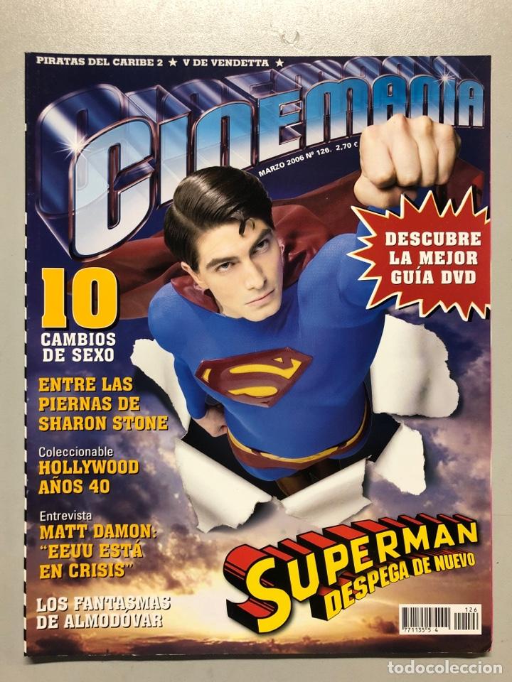 CINEMANIA N° 126 (2006). SUPERMAN, SHARON STONE, HOLLYWOOD AÑOS 40, MATT DAMON, ALMODÓVAR,... (Cine - Revistas - Cinemanía)