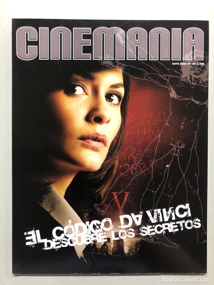 CINEMANIA N° 128 (2006). EL CÓDIGO DA VINCI, MISIÓN IMPOSIBLE, IAN MCKELLEN,... (Cine - Revistas - Cinemanía)