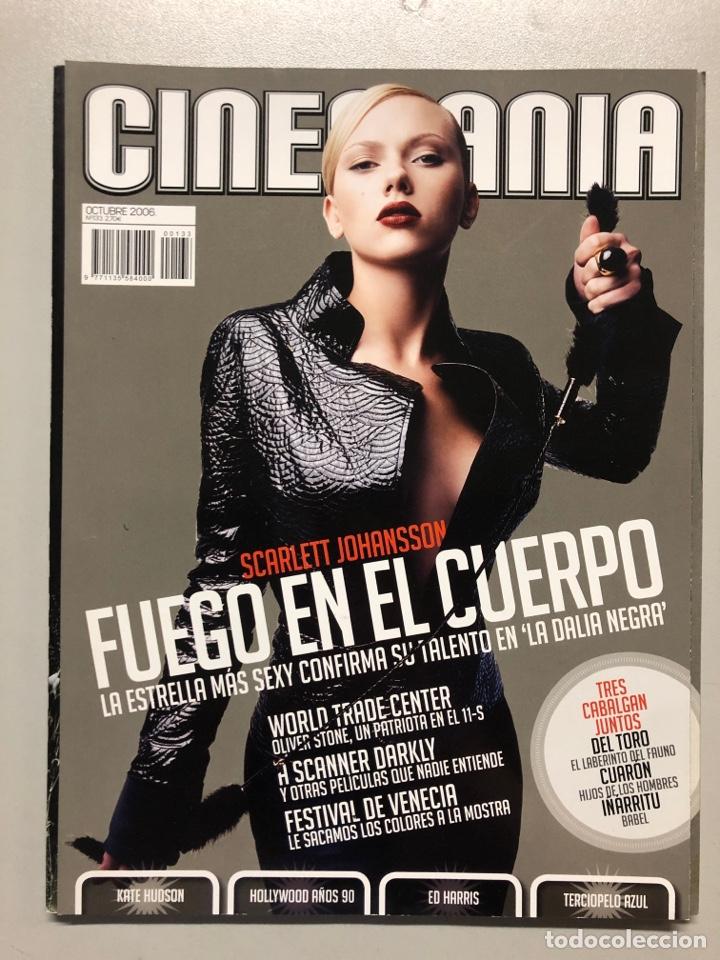 CINEMANIA N° 133 (2006). SCARLETT JOHANSSON, KATE HUDSON, ED HARRIS, HOLLYWOOD AÑOS 90 (Cine - Revistas - Cinemanía)