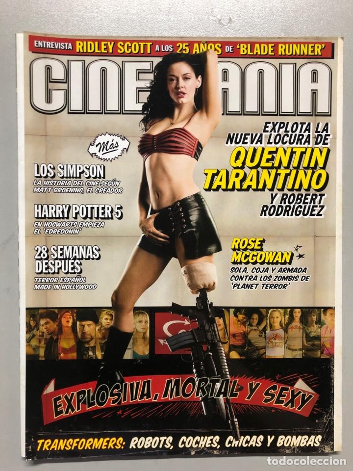CINEMANIA N° 142 (2007). QUENTIN TARANTINO Y TOBERT RODRÍGUEZ, RIDLEY SCOTT BLADE RUNNER,... (Cine - Revistas - Cinemanía)