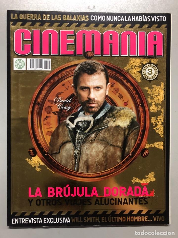 CINEMANIA N° 147 (2007). LA GUERRA DE LAS GALAXIAS, DANIEL CRAIG, WILL SMITH,... (Cine - Revistas - Cinemanía)
