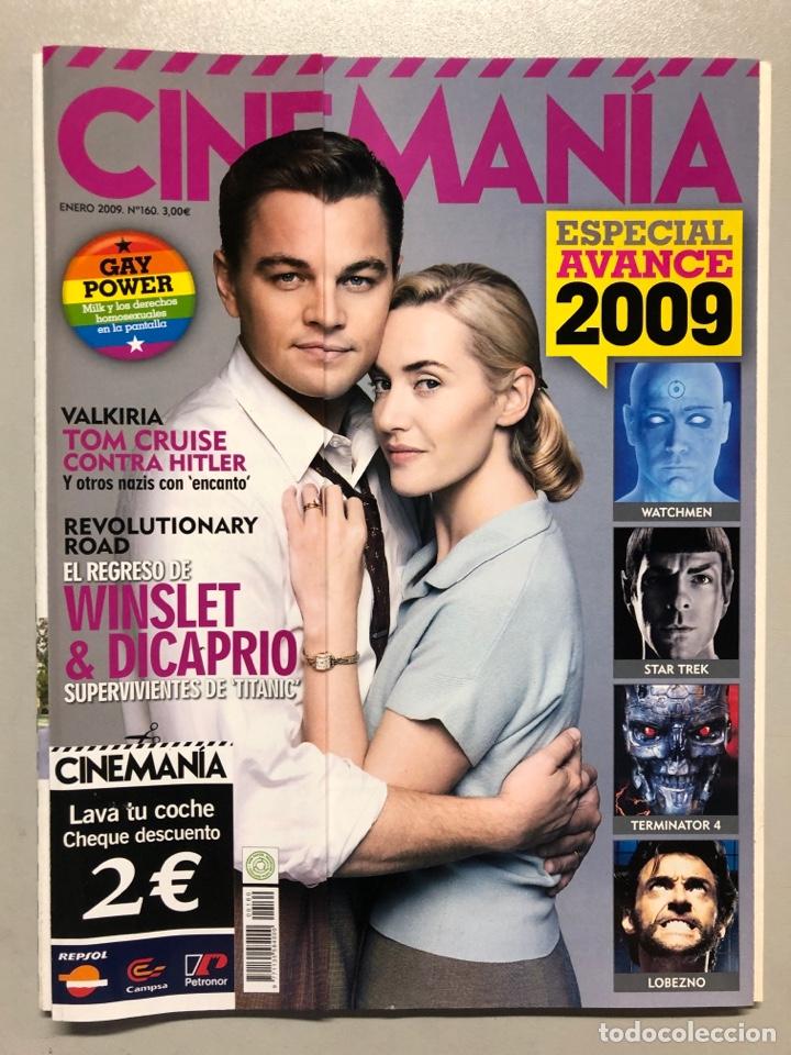 CINEMANIA N° 160 (2009). GAY POWER, KATE WINSLET, LEONARDO DICAPRIO, STAR TREK,... (Cine - Revistas - Cinemanía)