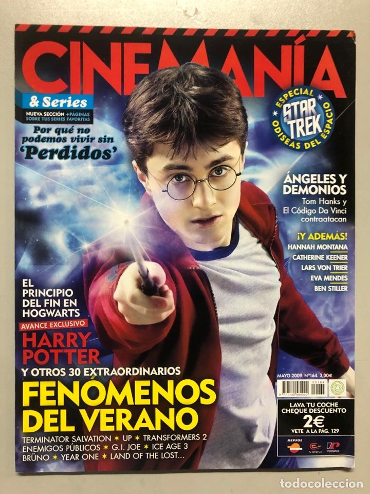 CINEMANIA N° 164 (2009). HARRY POTTER, TOM HANKS, STAR TREK, TERMINATOR, EVA MENDES,... (Cine - Revistas - Cinemanía)