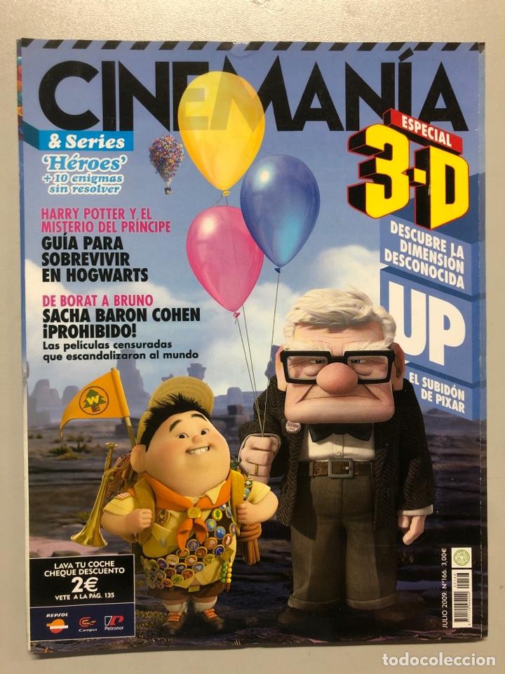 CINEMANIA N° 166 (2009). UP, HARRY POTTER, SACHA BARON COHEN,... (Cine - Revistas - Cinemanía)