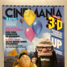 Cine: CINEMANIA N° 166 (2009). UP, HARRY POTTER, SACHA BARON COHEN,.... Lote 206898077