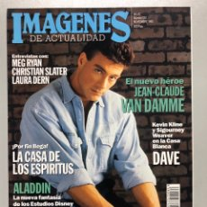 Cine: IMÁGENES DE ACTUALIDAD N° 120 (1993). JEAN CLAUDE VAN DAMME, MEG RYAN, LAURA DERN,.... Lote 259304350