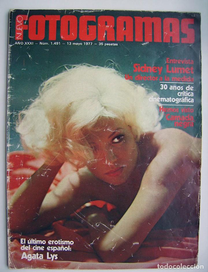 AGATA LYS. REVISTA FOTOGRAMAS 1977. (Cine - Revistas - Fotogramas)