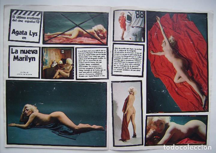 Cine: AGATA LYS. REVISTA FOTOGRAMAS 1977. - Foto 2 - 206946866