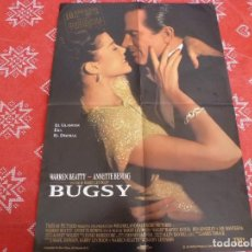 Cine: POSTER (59 X 41) - BUGSY -. Lote 206961710