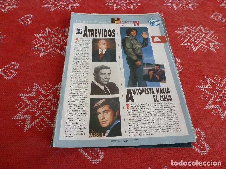 112 PAGINAS DEL COLECCIONABLE DE PANTALLA 3 AÑOS 90 CON LAS SERIES DE LA HISTORIA DE LA TV (Cine - Revistas - Otros)