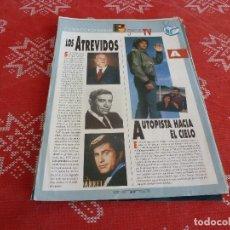 Cine: 112 PAGINAS DEL COLECCIONABLE DE PANTALLA 3 AÑOS 90 CON LAS SERIES DE LA HISTORIA DE LA TV. Lote 206961987