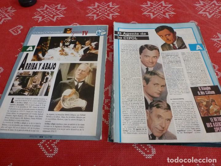 Cine: 112 PAGINAS DEL COLECCIONABLE DE PANTALLA 3 AÑOS 90 CON LAS SERIES DE LA HISTORIA DE LA TV - Foto 3 - 206961987