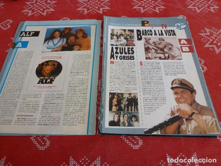 Cine: 112 PAGINAS DEL COLECCIONABLE DE PANTALLA 3 AÑOS 90 CON LAS SERIES DE LA HISTORIA DE LA TV - Foto 4 - 206961987