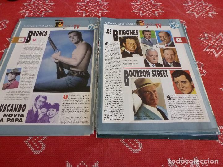 Cine: 112 PAGINAS DEL COLECCIONABLE DE PANTALLA 3 AÑOS 90 CON LAS SERIES DE LA HISTORIA DE LA TV - Foto 6 - 206961987