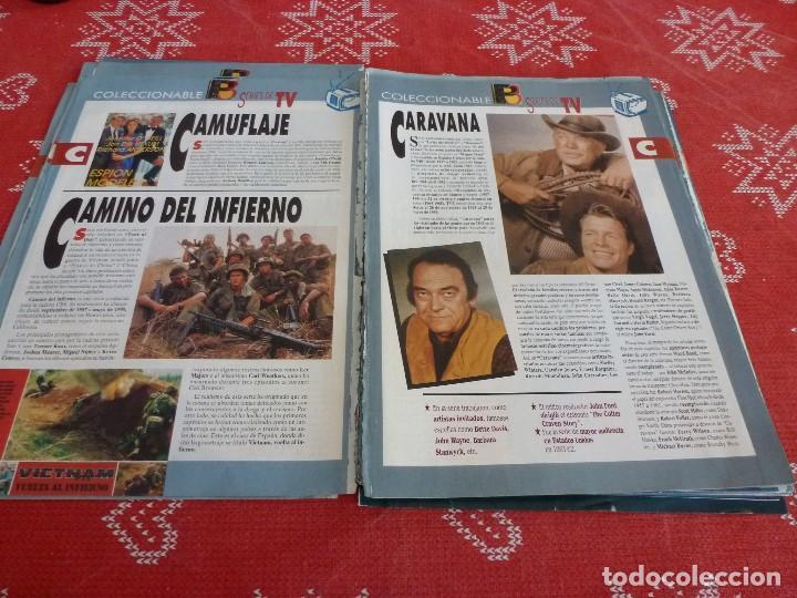 Cine: 112 PAGINAS DEL COLECCIONABLE DE PANTALLA 3 AÑOS 90 CON LAS SERIES DE LA HISTORIA DE LA TV - Foto 9 - 206961987