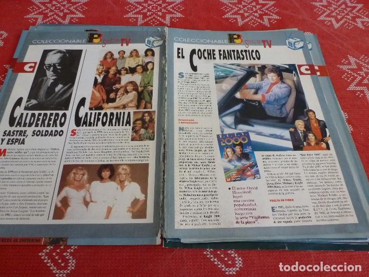 Cine: 112 PAGINAS DEL COLECCIONABLE DE PANTALLA 3 AÑOS 90 CON LAS SERIES DE LA HISTORIA DE LA TV - Foto 10 - 206961987