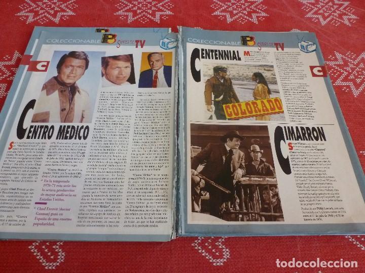 Cine: 112 PAGINAS DEL COLECCIONABLE DE PANTALLA 3 AÑOS 90 CON LAS SERIES DE LA HISTORIA DE LA TV - Foto 12 - 206961987