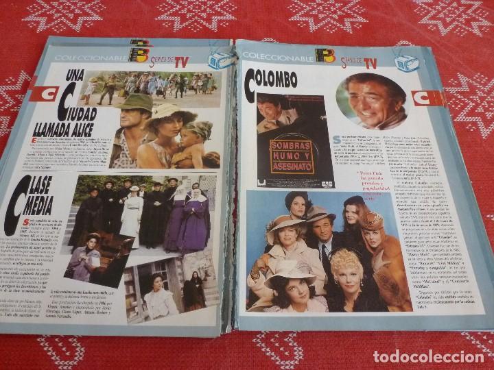 Cine: 112 PAGINAS DEL COLECCIONABLE DE PANTALLA 3 AÑOS 90 CON LAS SERIES DE LA HISTORIA DE LA TV - Foto 13 - 206961987