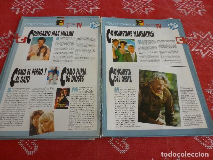 Cine: 112 PAGINAS DEL COLECCIONABLE DE PANTALLA 3 AÑOS 90 CON LAS SERIES DE LA HISTORIA DE LA TV - Foto 14 - 206961987