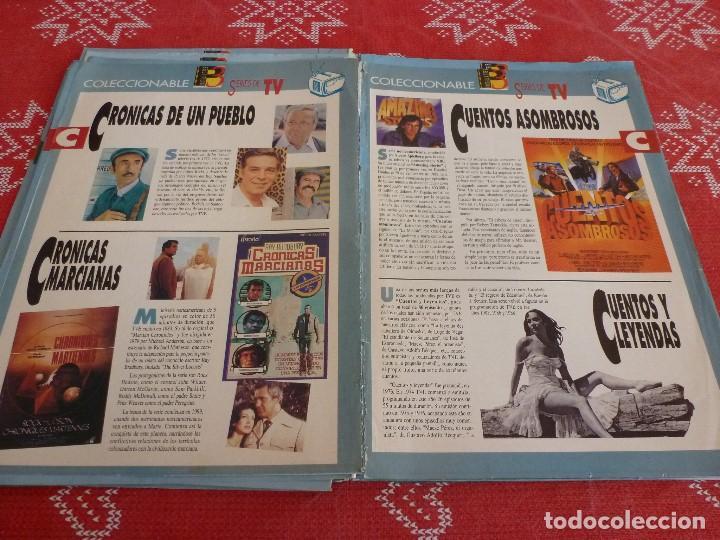 Cine: 112 PAGINAS DEL COLECCIONABLE DE PANTALLA 3 AÑOS 90 CON LAS SERIES DE LA HISTORIA DE LA TV - Foto 15 - 206961987