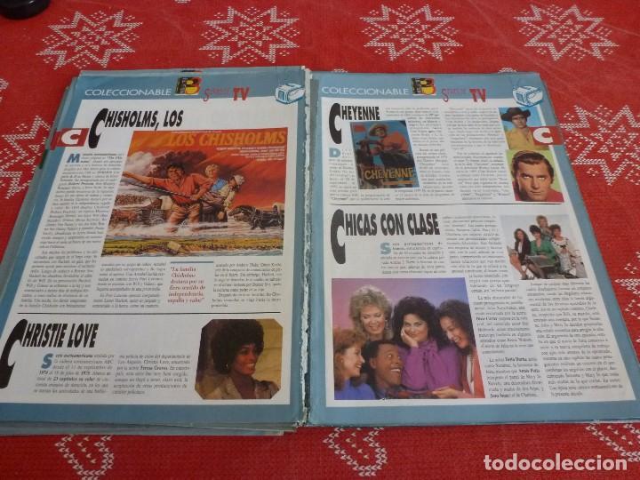 Cine: 112 PAGINAS DEL COLECCIONABLE DE PANTALLA 3 AÑOS 90 CON LAS SERIES DE LA HISTORIA DE LA TV - Foto 16 - 206961987